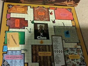 Vintage 1972 Clue Board Game Replacement Parts and Pieces