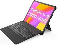 Inateck Tastatur Hülle für iPad Pro 12,9 Zoll 2020/2018, abnehmbar, QWERTZ