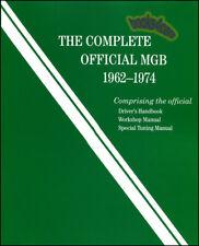 MGB SHOP MANUAL SERVICE REPAIR COMPLETE OFFICIAL WORKSHOP BOOK ROBERT BENTLEY MG