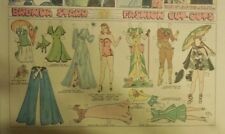 Brenda Starr Sunday with Large Uncut Paper Dolls from 5/24/1942 Full Size Page