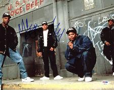DJ Yella & MC Ren N.W.A Authentic Signed 11x14 Photo Autographed PSA/DNA #Z90119