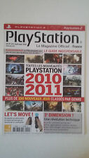 Magazine PLAYSTATION Hors Série N°11H - Août 2010 - GUIDE NOUVEAUTES 2010 2011