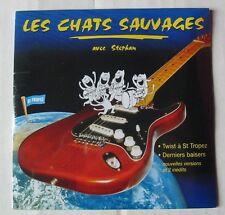 LES CHATS SAUVAGES AVEC STEPHAN (CD Single) TWIST A ST TROPEZ - NEUF SCELLE