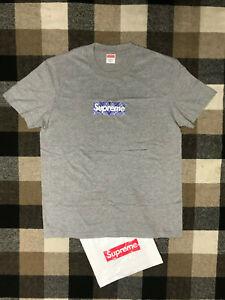 Supreme bandana box logo Pre-owned Gray size M