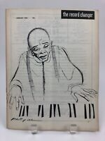 Vintage January 1954 THE RECORD CHANGER Jazz Music Magazine, Robert Lee Cover