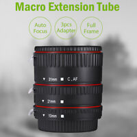 Auto Focus Macro Extension Tube 13/21/31MM For Canon Camera EF EF-S Mount Lenses