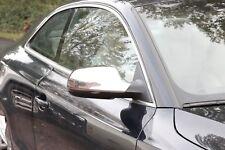 Chrom Spiegel Kappen aus EDELSTAHL Zierkappen Audi A3 A4 A5 Facelift ab 2010>