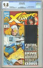 X-Force #25 CGC 9.8 White Pages 1993 2120692007 Cable Hologram Wraparound