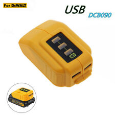 12V/20V Max USB Power Source for Dewalt DCB090 Cordless Phone USB Charger NEW