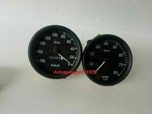 Smiths replica Gauges kit 100 mm speedometer tacho black bezel