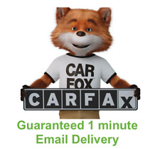 CARFAX VEHICLE VIN FULL HISTORY 🎉 FAST DELIVERY 🎉