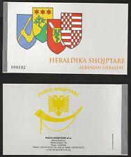 Albania 2007 Rare Booklet Albanien Heraldic 16 MNH** stamps inside