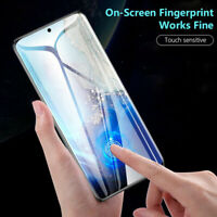 For Samsung Galaxy S20 Ultra Plus Full Coverage Tempered Glass Screen Protectors