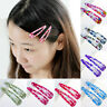 10X Wholesale Multicolour Hair Snap Clips Claws Girls Women's Hair Accessory Kit
