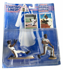 MLB Starting Lineup SLU Classic Doubles Barry Bonds & Bobby Bonds Action Figures