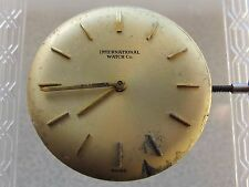 INTERNATIONAL WATCH CO MOVEMENT & DIAL CAL.C.41 SWISS MADE IN WORKING CONDITION