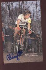 CHRIS WREGHITT cyclisme Signée Cyclo-Cross Autographe cycling ciclismo radsport