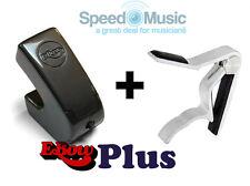 Arco Plus Para Guitarra-E efectos! (Ebow) empaquetado junto con Palanca De Guitarra-tipo De Resorte CAPO