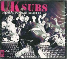 2 CD COMPIL DIGIPACK 46 TITRES--UK SUBS--ORIGINAL PUNKS ORIGINAL HITS--2006