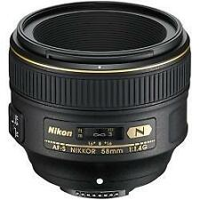 Nikon NIKKOR 58mm f/1.4 AS Aspherical SIC N M/A Lens