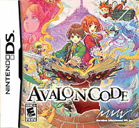 USED Avalon Code Nintendo DS Cartridge Only Super Clean