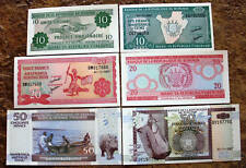 Burundi africa 10 , 20 , 50 , francs  unc