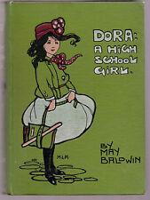 Mabel Lucie Attwell / May Baldwin - Dora A High School Girl - 1911 - Scarce