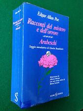 Edgar Allan POE - RACCONTI DEL MISTERO E DELL'ORRORE + ARABESCHI , Ed Sugar 1974