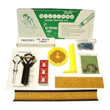 Tweeten Billar Home Punta Kit de Reparación Para Re-Tipping Piscina Señales