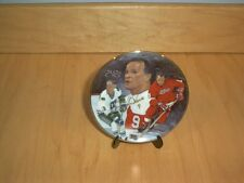 "NHL Gordie Howe ""Mr. Hockey"" 2421 - D.H. Usser Ltd Collectors Plate~W/stand~Mini"