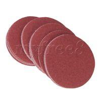 20PCS 240Grit 6-Inch Sanding Discs Hook Loop Sandpaper DIY Tool No Hole