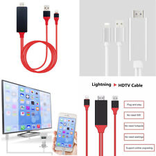 Plug & Play 1080p Lightning to HDMI HDTV AV Adapter Cable For iPhone 5/6/7/8/X