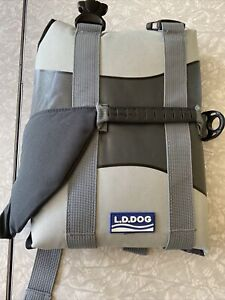 L.D.DOG Shark Life Jacket For (Medium)Pet Grey New In Package G LAKE