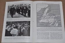 1941 NEWFOUNDLAND magazine article, early WWII happenings etc not Canada yet