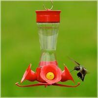 Woodstream Perky Pet 203CPBN 8 Ounce Glass Pinch Waist Hummingbird Feeder