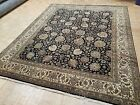 8x10 INDO SUPER SULTANABAD ZIEGLER RUG AUTHENTIC HAND KNOTTED WOVEN 100% WOOL