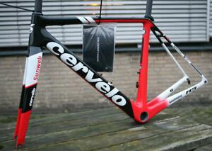 NOS NEW Cervélo R5 Official Team Sunweb Carbon fiber frame set 54cm w. seatpost