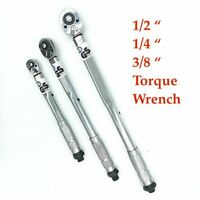 1/2 1/4 3/8 Torque Wrench Drive Two-way Bike Tool Ratchet Wrench Repair Key Auto
