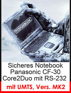 Panasonic CF30 CF-30 MK2 Protection Impact Resistant Notebook Wifi Touch RS232