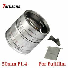 7artisans 55mm F1.4 APS-C Manual Fix Focus Length Prime Lens X Mount For Fuji