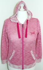 EVERLAST Woman's Pink Zip Through Hoodie Size UK 8 Eur 36