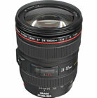 Canon EF 24-105mm f/4 L IS USM Lens + EW83H Hood (Bulk Package)