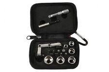 Laser 6945 Mini Flexi Ratchet Socket & Bit Set 17pc 1/4 Drive Male & Female