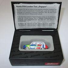 "SCHUCO PICCOLO 05847 AUSTIN FX4 LONDON TAXI "" SINGAPOUR "" NEUF / Emballage"
