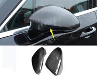 2pcs FIT For Lexus RC F-sport RC Carbon Fiber Rearview Mirror Cover 2014-2017
