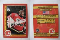2015 SCA Brian Boucher Calgary Flames goalie never issued produced #d/10