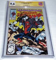 Amazing Spider-Man #322 CGC SS Signature Autograph STAN LEE Silver Sable Appear