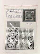 Diane Evans Something Different Ione 926- Canvas Work w/ Beads Needlepoint Kit