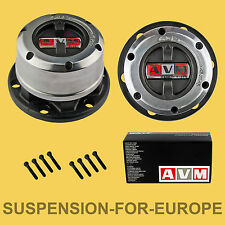 AVM Kit Mozzi Ruota Libera manuali AVM per Hyundai Galloper , nuovo