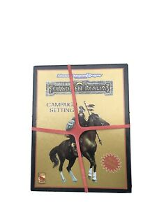 FORGOTTEN REALMS CAMPAIGN SETTING 1993 Box Set AD&D 2nd Edition TSR GOLD EDITION